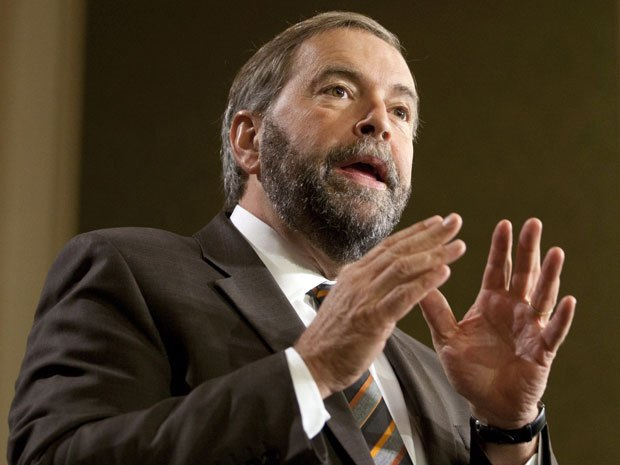 Current NDP leader Thomas Mulcair is scrappy, tough and experienced in the cut and thrust of Parliamentary politics.