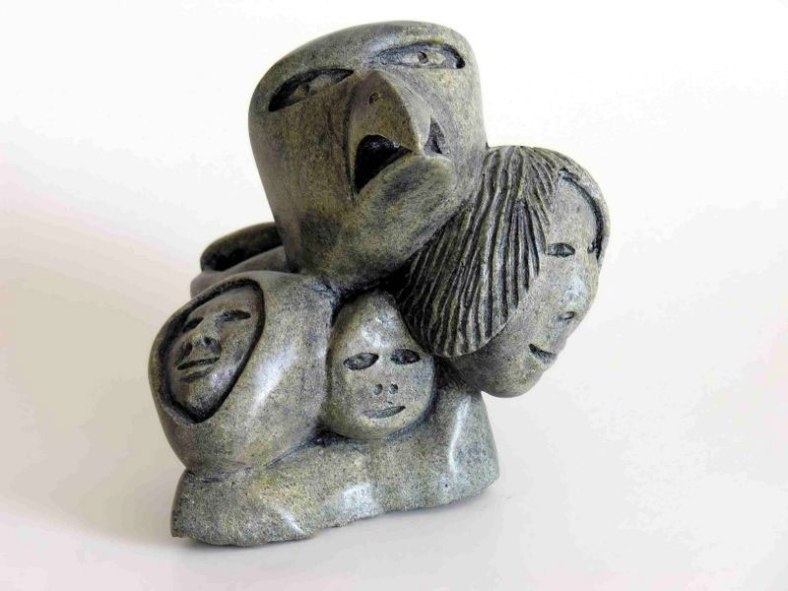 Inuit art is considered some of the most beautiful and inspiring of the Native American art heritages.