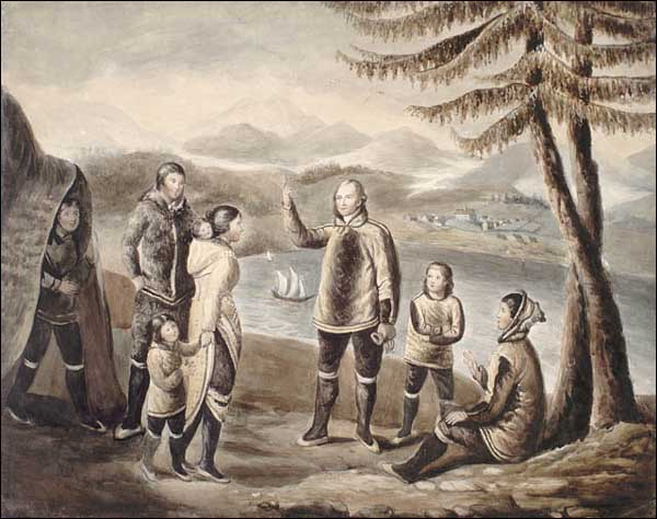 James Frobisher is regarded as the first European to make contact with the Inuit in Nunavut in the 16th Century.