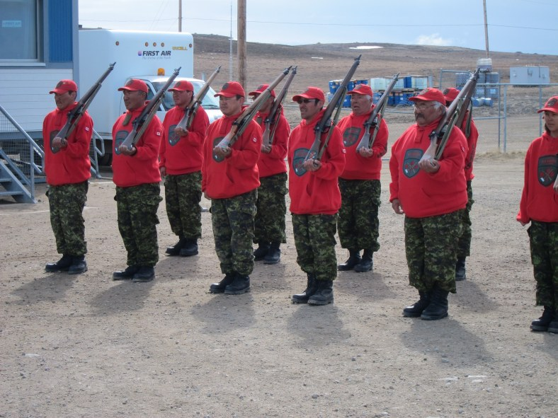 Many of the people in Nunavut have organized themselves into the Canadian Rangers: civilian militias intent on defending their homeland against Russian aggression.