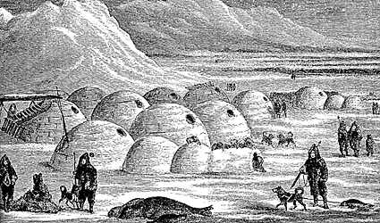 The tradition of Igloo building makes the Inuit famous around the world, although the people of Nunavut today live year round in modern housing. Igloo building still remains a part of cultural life for most Inuit who live in Nunavut.