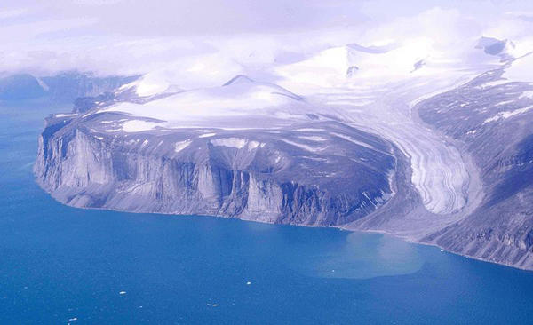 The coast of Baffin Island.