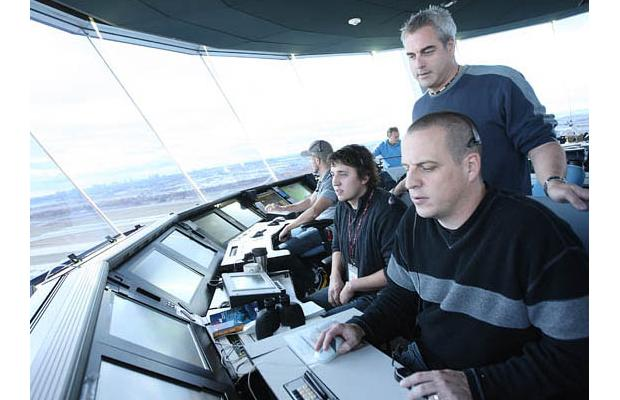 NavCan personnel operate Pearson Air Traffic Control.