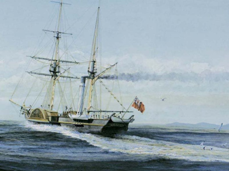 By the 1870's HBC owned more than 270 ocean-going ships, many of them the most modern design of the times.